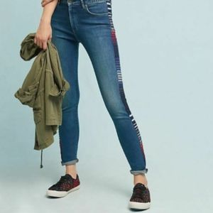 Anthro Levi's Made & Crafted 721 High Rise Jeans